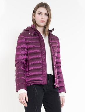 Iridescent down jacket