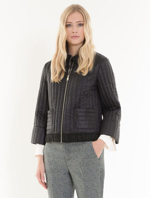 Boxy jacket in padded nylon