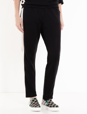 Jogging trousers in soft jersey