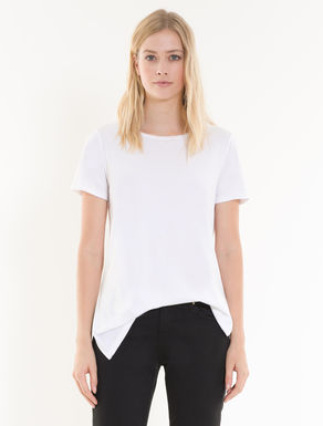 Cotton jersey tunic T-shirt