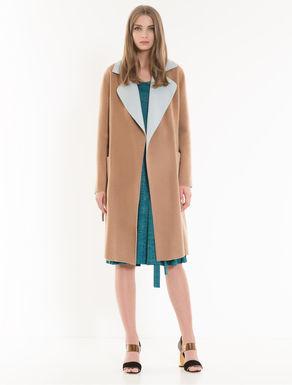 Manteau réversible bicolore