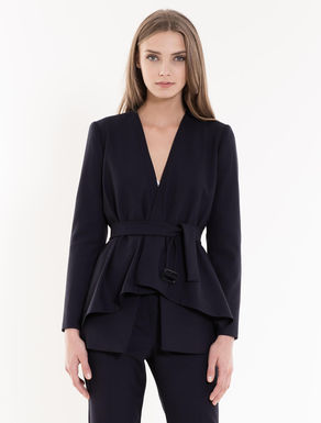 Crêpe jacket