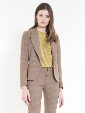 Double check blazer