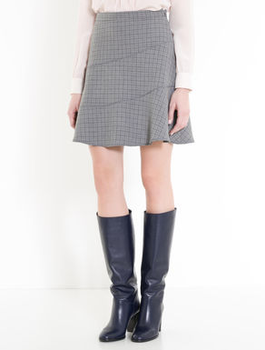 Double check skirt