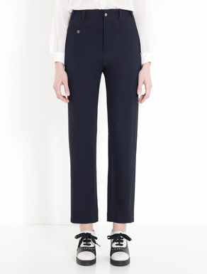 Floaty cady trousers