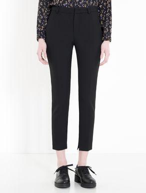 Pantalón slim de tejido doble