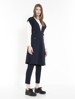 Gilet-abito in cady