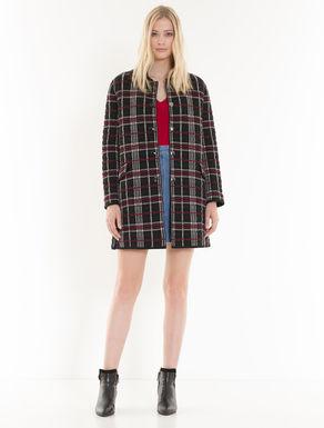 Manteau Knitpad à carreaux
