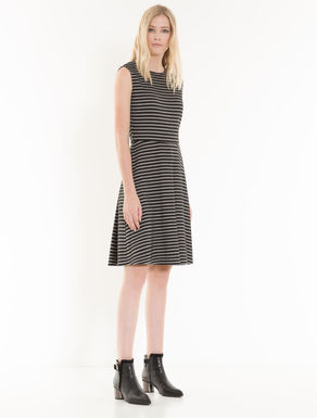 Jacquard jersey Corolla Dress