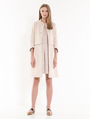 Mantel aus Techno-Jersey