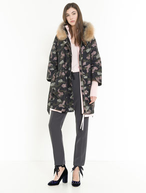 4-In-1 camouflage down parka