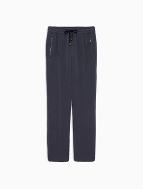 Pantalón jogging de tejido crepé