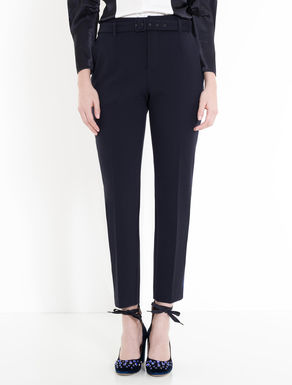 Sablé carrot-fit trousers