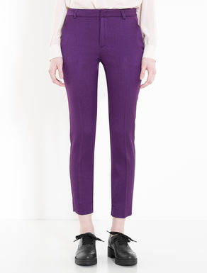 Slim floaty trousers