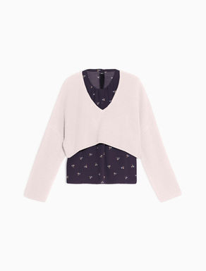 Jumper with matching floral top