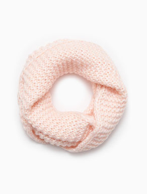 Laminated infinity scarf