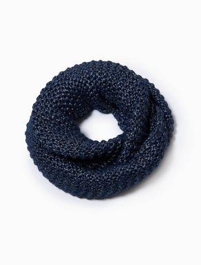 Laminated infinity scarf