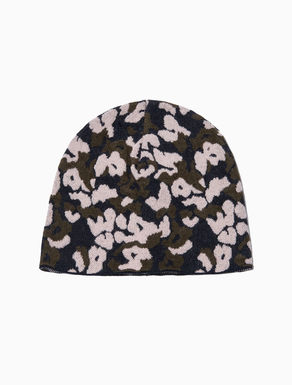 Camouflage jacquard cap