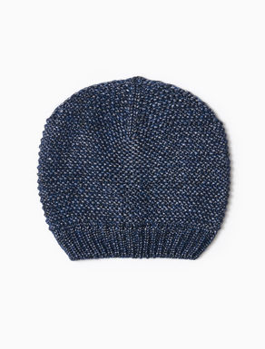 Laminated knit cap