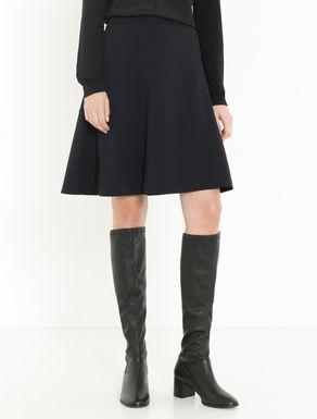Technical jersey inlay skirt