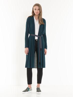 Manteau en jersey tulle