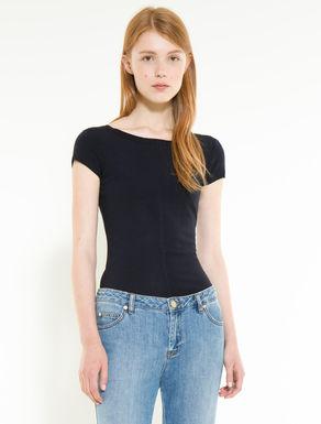T-shirt en jersey stretch