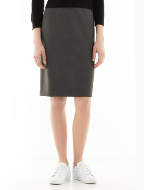 Skirt in stretch fabric