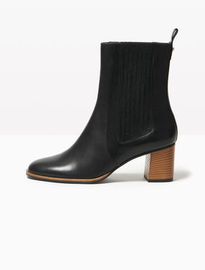 Chelsea ankle boots with midi heel