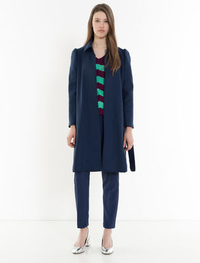 Lightweight wool cloth coat