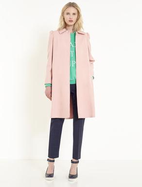 Lightweight wool cloth coat