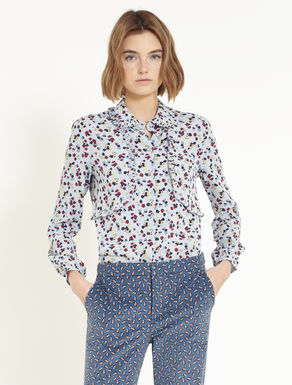 Floaty shirt with ruching