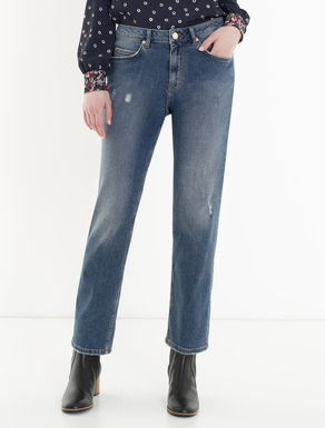 New boyfriend-fit jeans