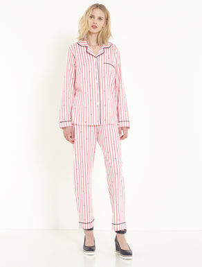 Printed jersey pyjamas