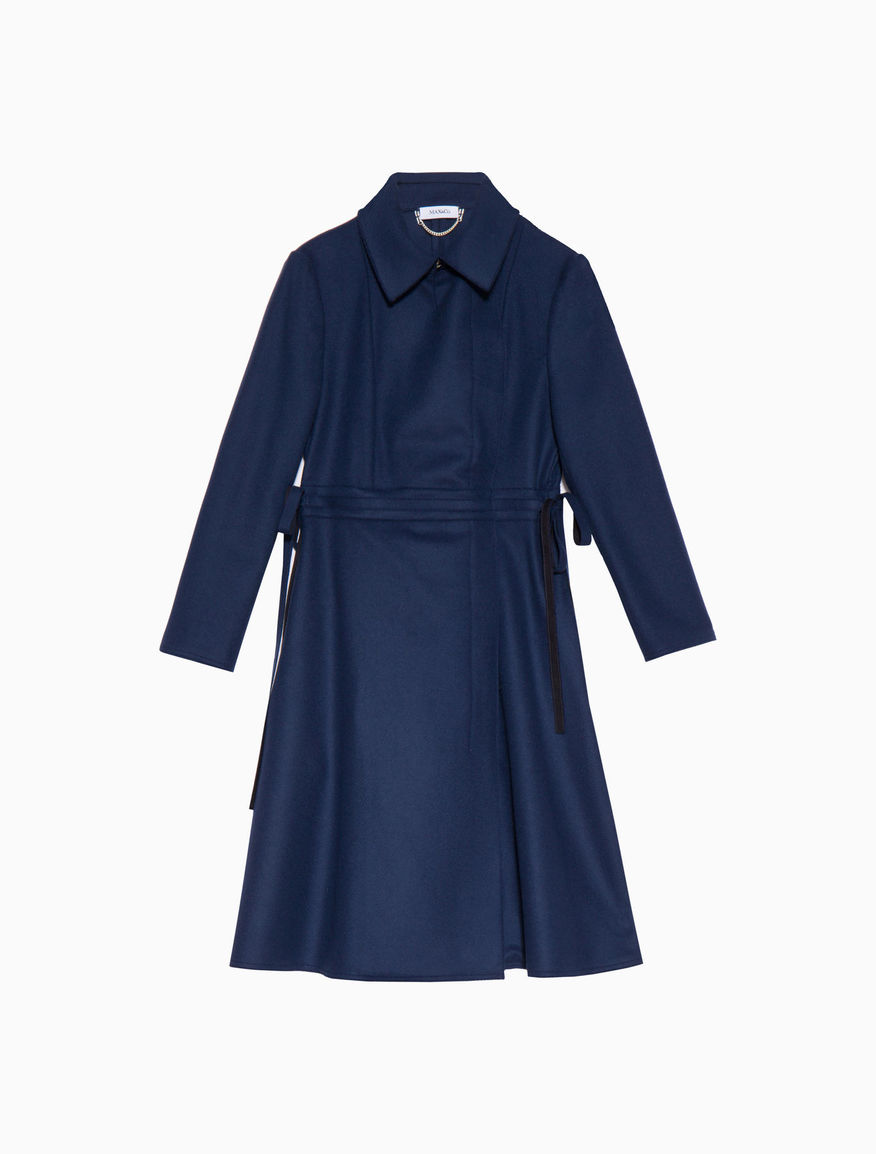 Manteau redingote en drap léger