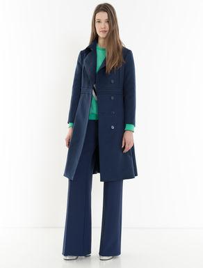 Lightweight wool cloth riding coat