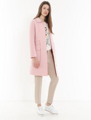 Double weave fabric coat