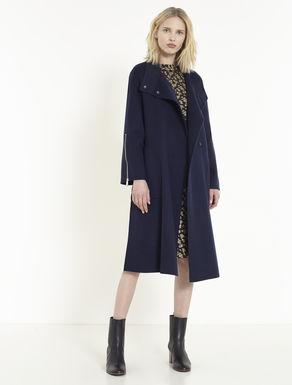 Mantel aus Doppelgewebe