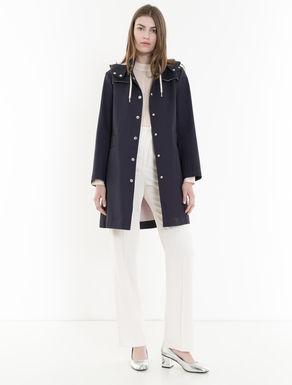 Double cotton raincoat