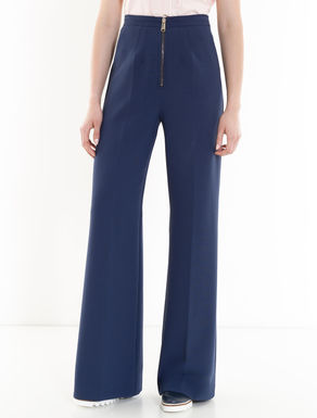 Wide-fit double trousers