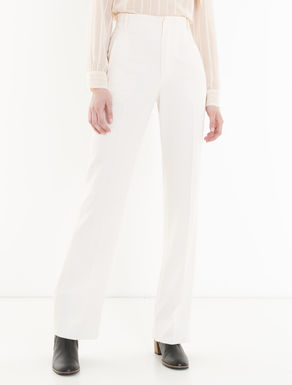 Floaty twill trousers