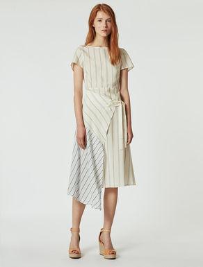 Flowing patchwork dress