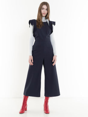 Stretch cotton jumpsuit