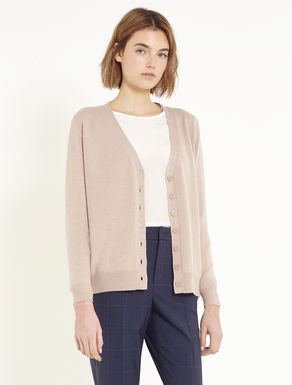 Cardigan with floral embroidery