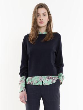 Pullover aus Viskose mit Tunnelzug