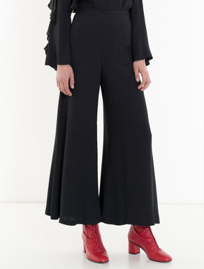 Envers satin palazzo trousers