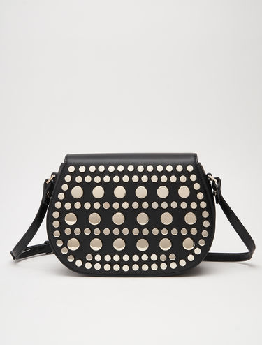 Shoulder bag with studs