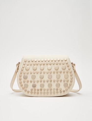 Shoulder bag with studs