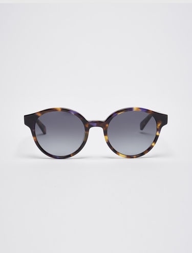 Occhiali da sole round cat-eye