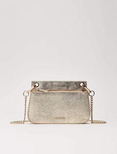 Laminated mini-chain bag