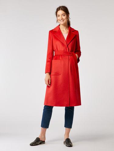 Mantel aus Wolltwill